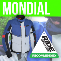 Mondial - RiDE Magazine Recommended