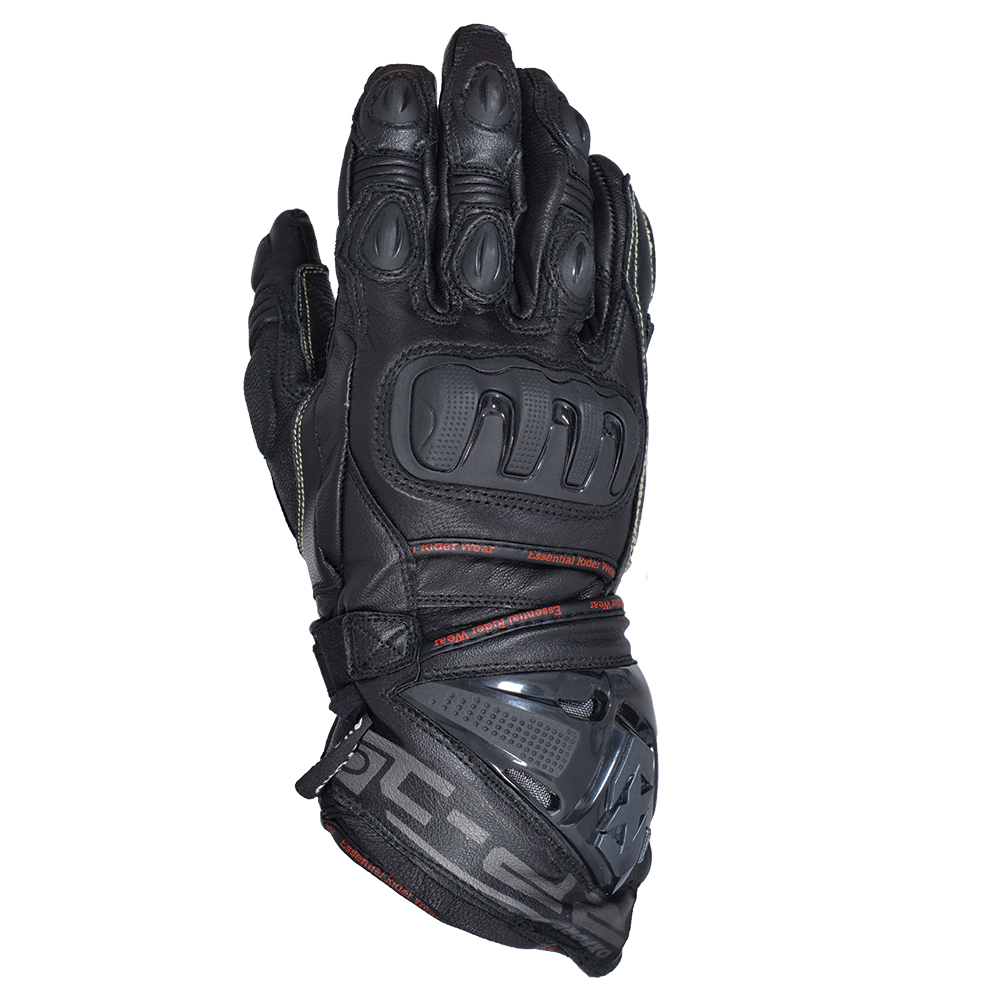 Motorcycle gloves bangalore - Oxford Rp 1 Waterproof Summer Glove Stealth Black