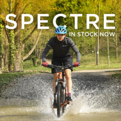 New SPECTRE cycle helmet from Oxford - in stock now!