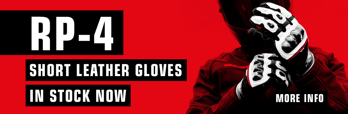 RP-4 Short Leather Gloves in Stock Now!