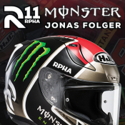 New HJC RPHA 11 Jonas Folger helmet in stock now!