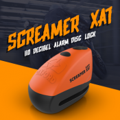 New from Oxford: Screamer XA7 alarm disc locks