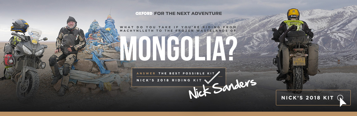Nick Sanders- Mongolia