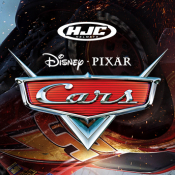 In stock now… Cars 3 movie helmets from HJC!