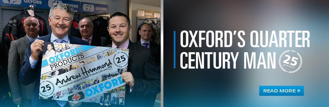 Oxford's quarter century man