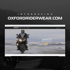 Oxford launches brand new rider wear website