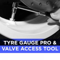 Tyre Gauge Pro & Valve Access Tool - In Stock Now