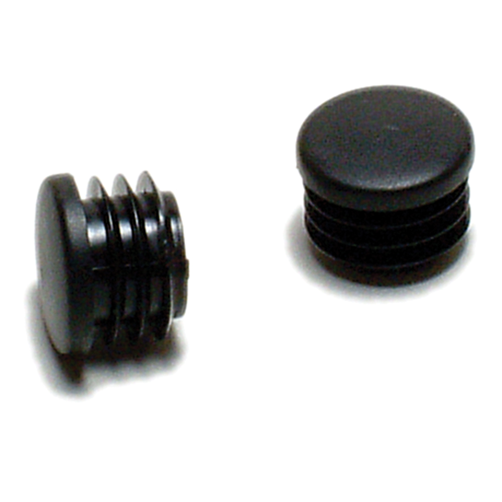 End plugs push in black pair oxford products