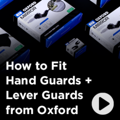How to Fit hand Guards + Lever Guards from Oxford