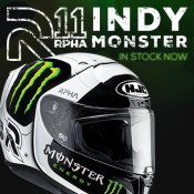 New from Oxford: HJC RPHA 11 Indy Monster now in stock!