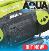 Oxford Aqua Luggage 2015 in stock now!