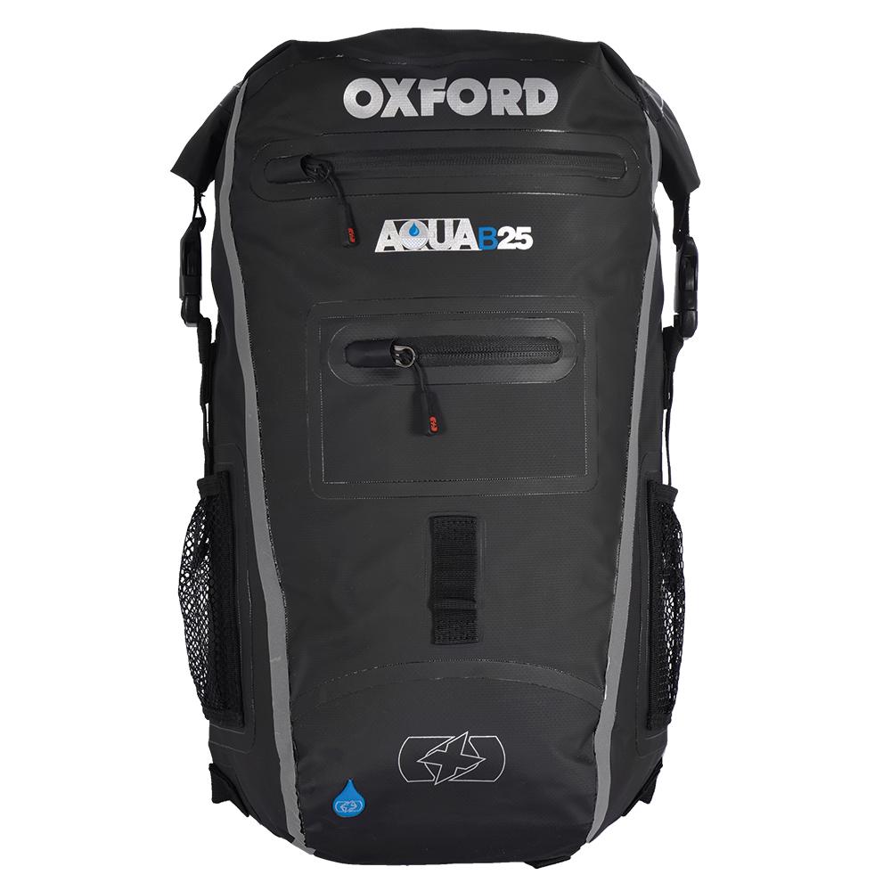Oxford Aqua B-25 Back Pack - Black/Grey