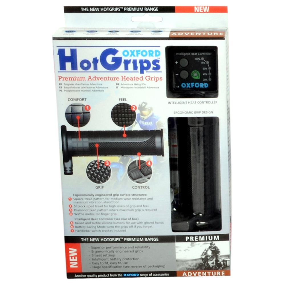Heated motorcycle gloves vs heated grips - Hotgrips Premium Adventure