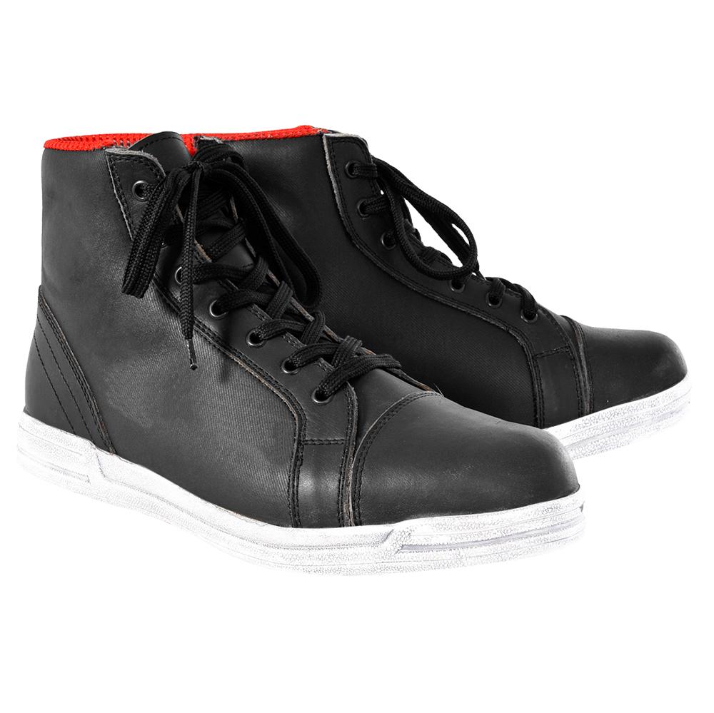 Oxford Jericho Boot Black White