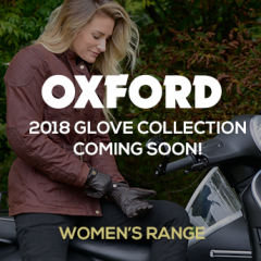 Oxford Women's 2018 Glove Collection Coming Soon!