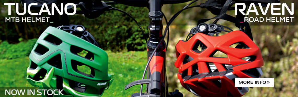 New from Oxford: Tucano & Raven Helmets