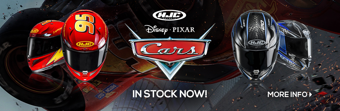 HJC Cars 3 Helmets In Stock Now!