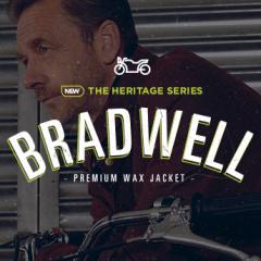 In stock now: Bradwell premium wax jacket