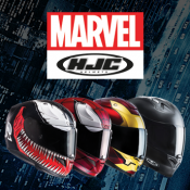 Become your own hero with Marvel and HJC helmets!
