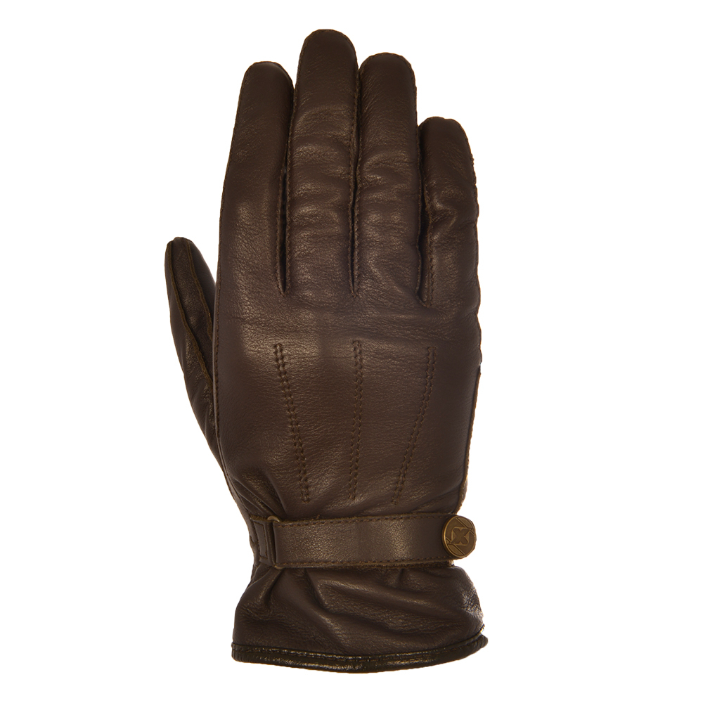 Radley ladies leather gloves - Oxford Holton Leather Glove Brown