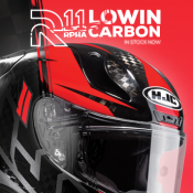 New & In Stock Now: HJC PRHA 11 Lowin Carbon
