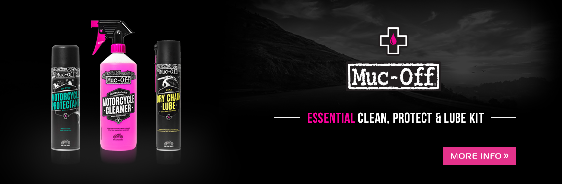 Muc-Off's Clean, Protect & Lube Kit
