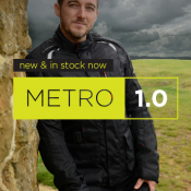 Metro 1.0 Motorcycle Touring Jacket - in stock now!