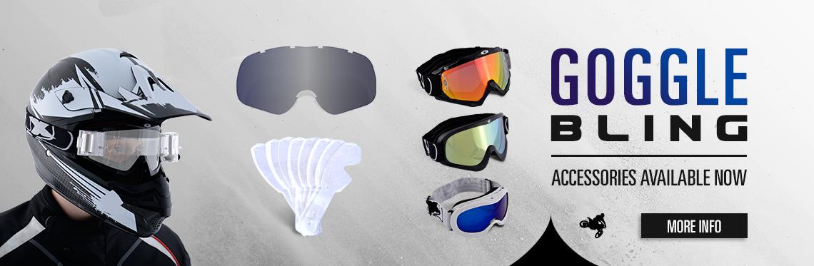Oxford MX goggle accessories