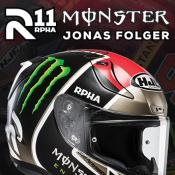New HJC RPHA 11 Jonas Folger helmet in stock now!