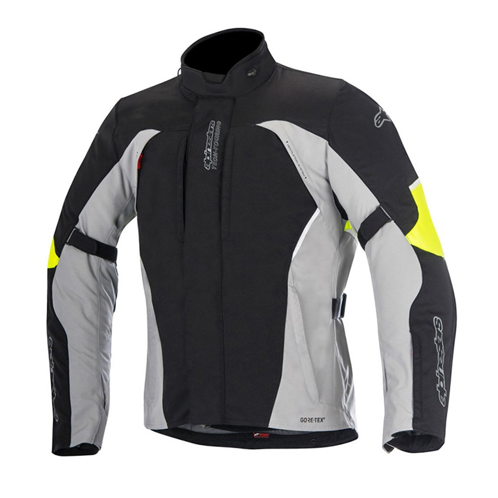 Alpinestars Ares Gore-Tex Jacket Black Grey Fluo