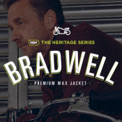 In stock now: Bradwell premium wax jacket
