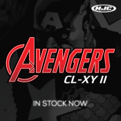 Be your own hero! Avengers MX Helmet from HJC in stock now!