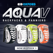 New from Oxford: AquaV 12 Backpacks & AquaV 14 Panniers in stock now!