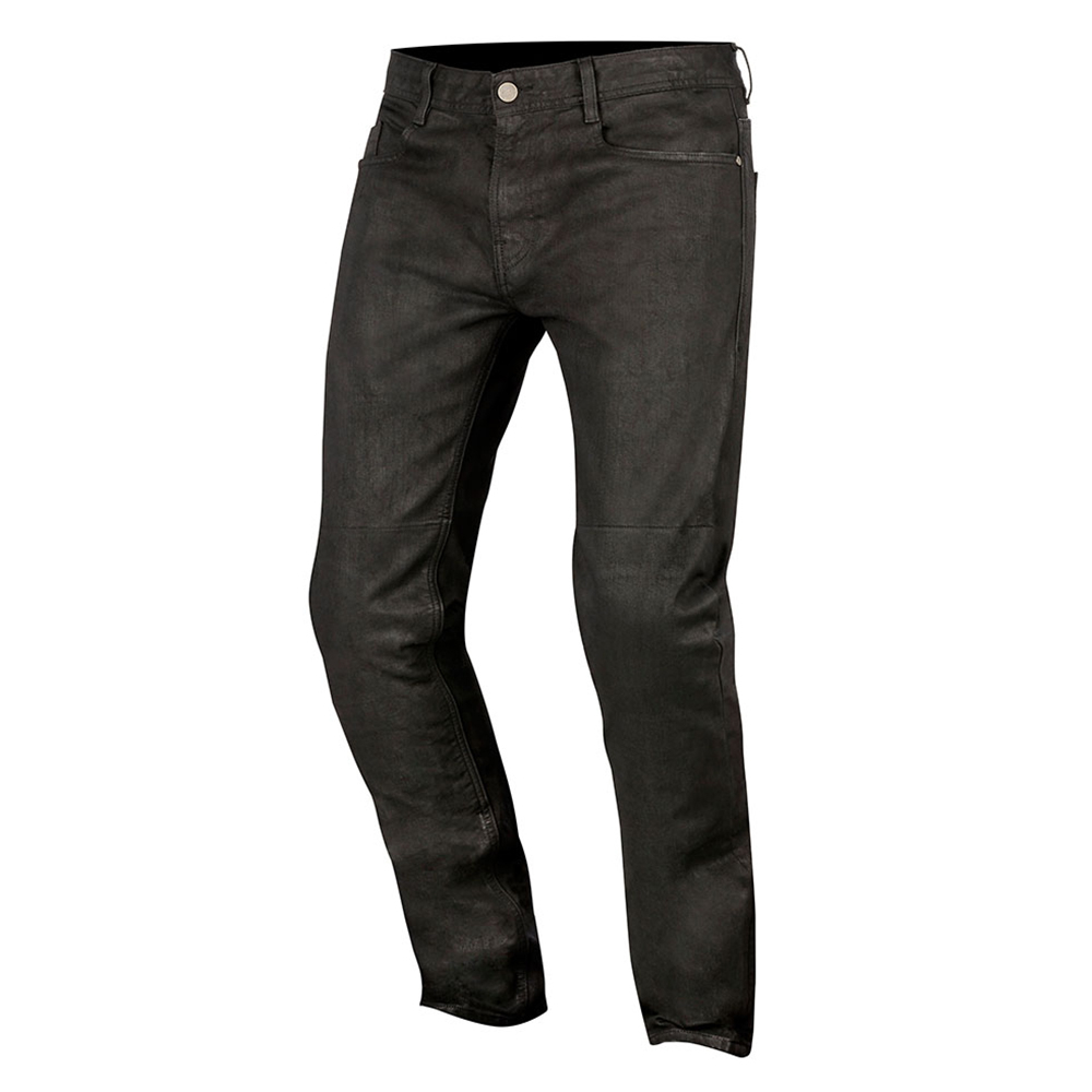 Alpinestars Double Bass Denim Pants Greaser Black
