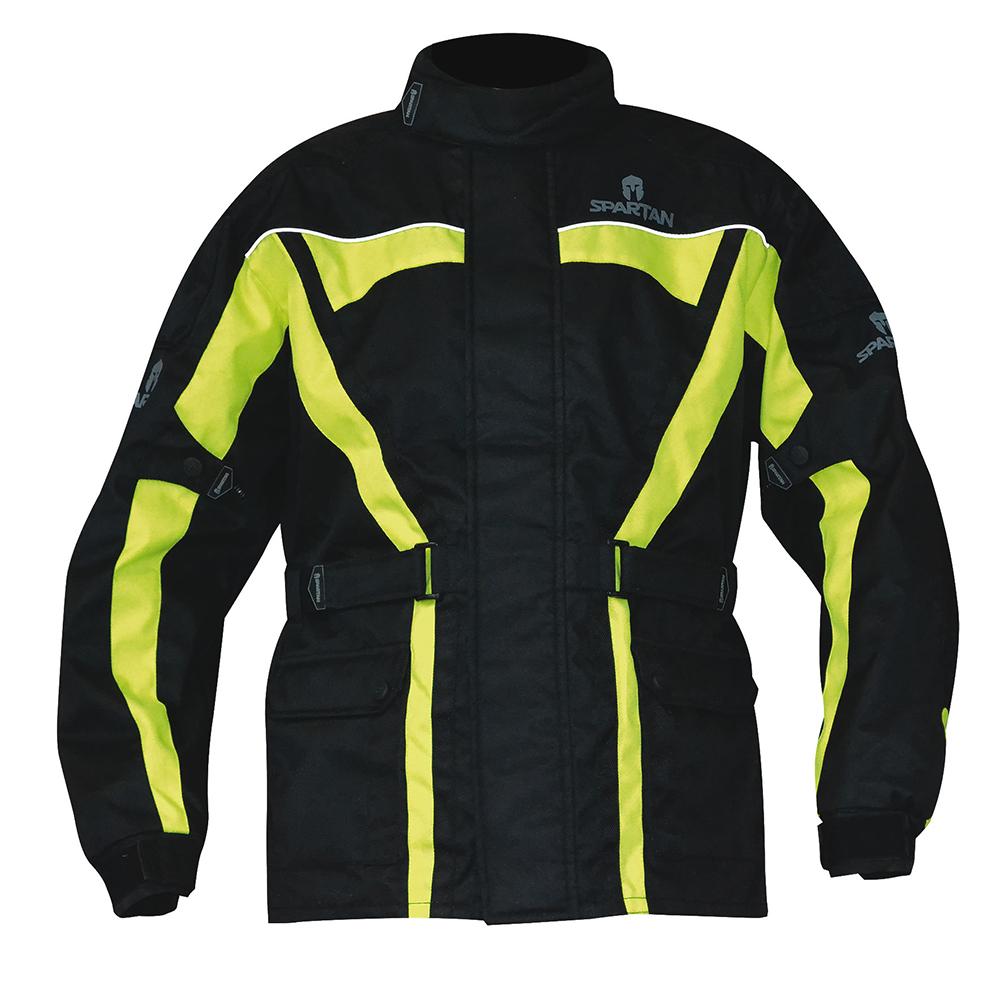oxford spartan motorcycle jacket black large pasp