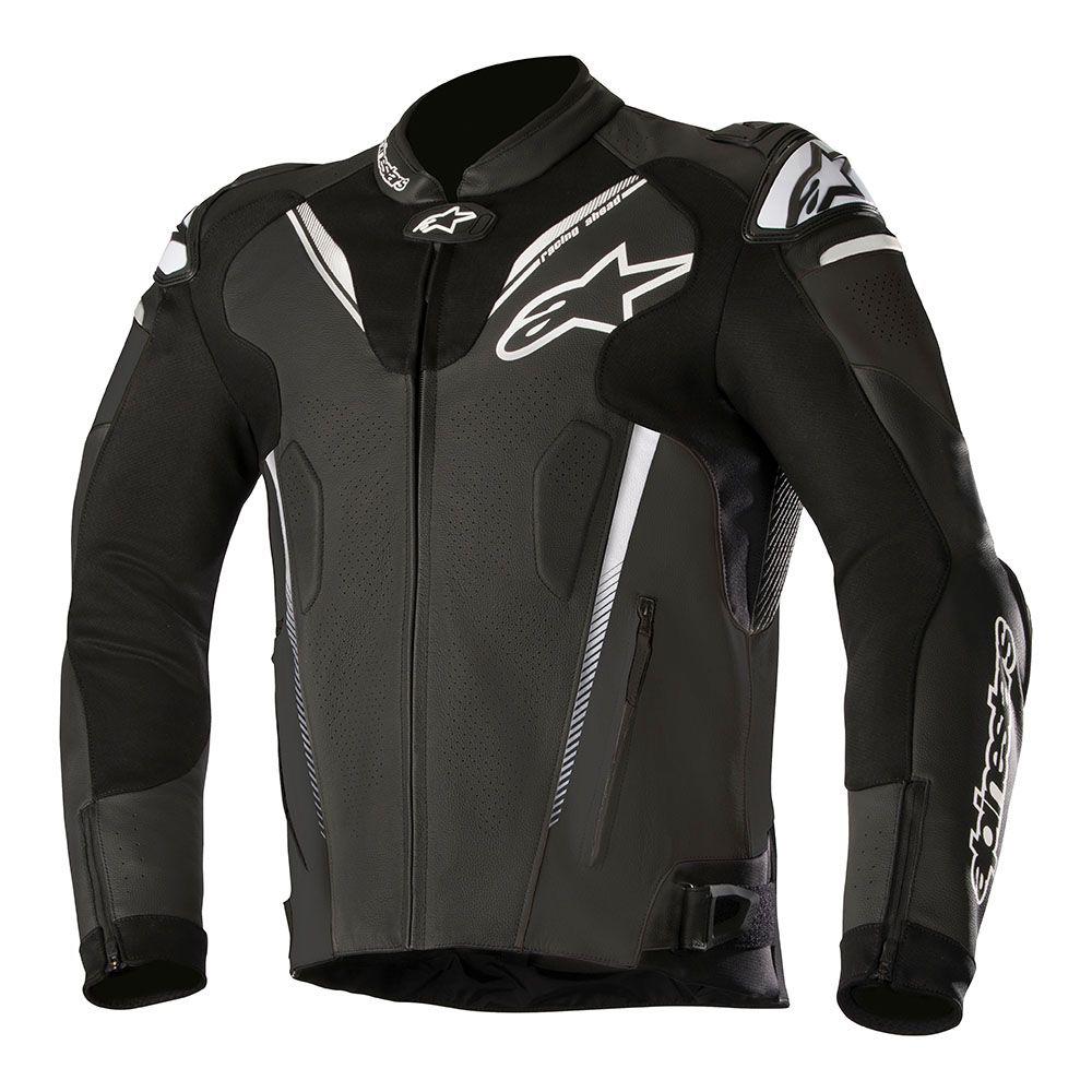 Alpinestars Atem v3 Leather Jacket Black