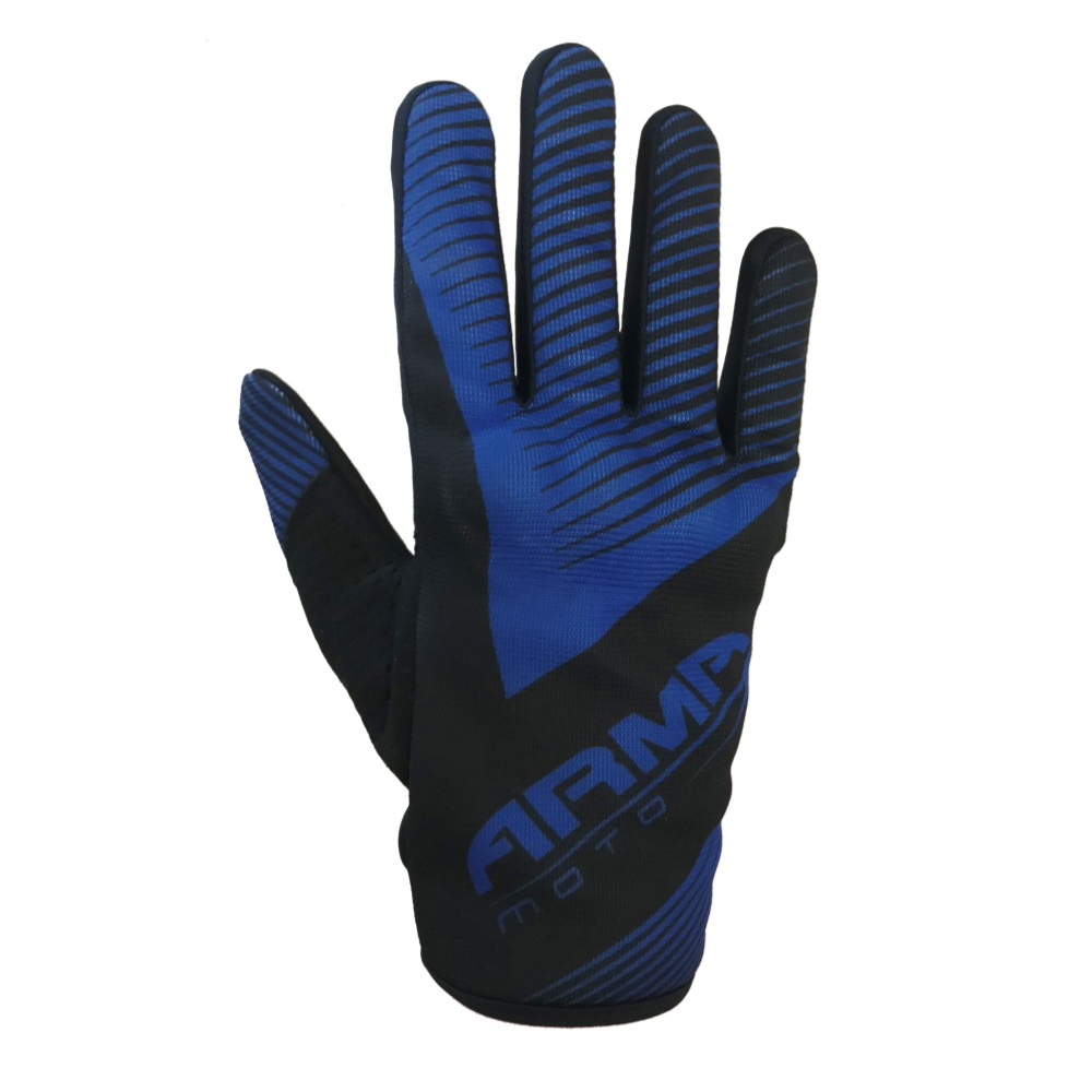 ARMR MX8 Motocross Glove - Black & Blue