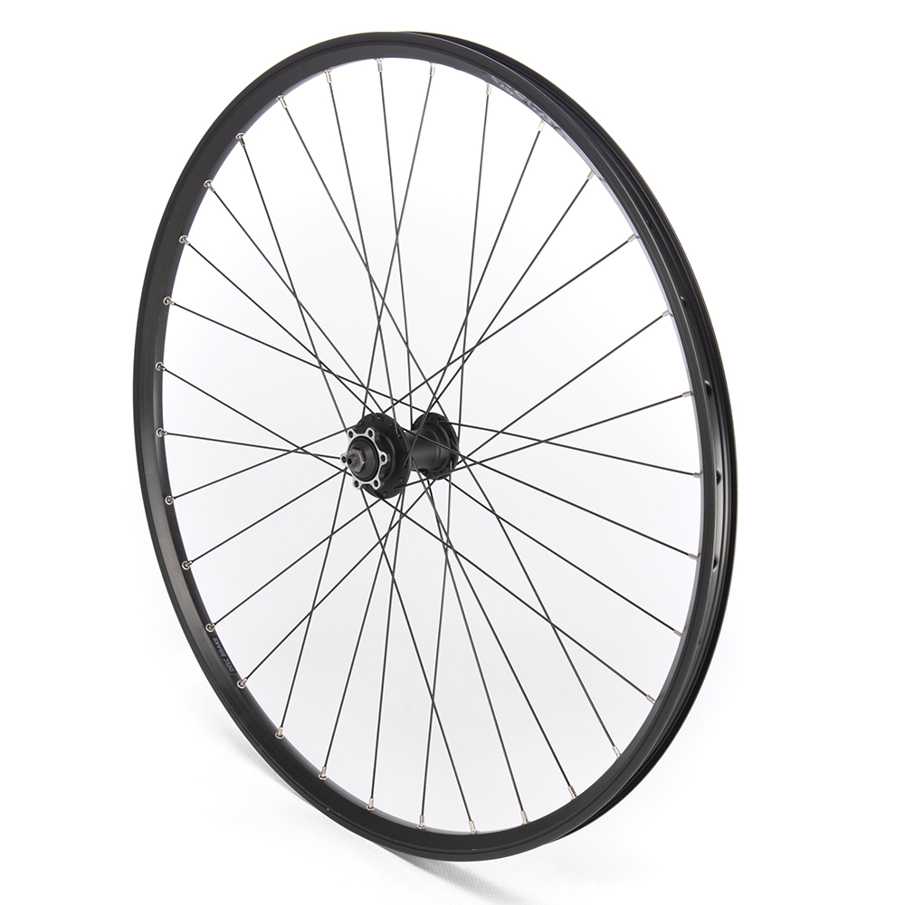 Front Wheel 29er Black Double Wall Disc Only