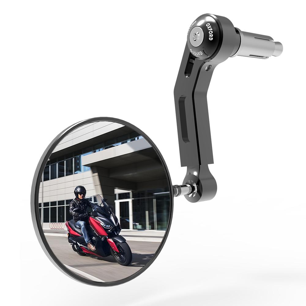 Oxford Premium Aluminium Mirror Single