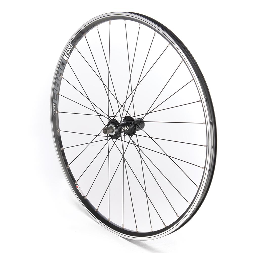 Rear Wheel 27.5 MTB Cassette Black D/Wall QR V-Brake