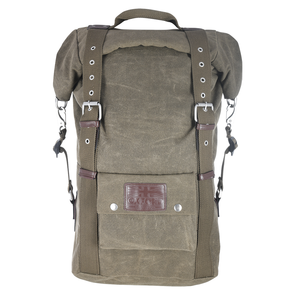 Oxford Heritage Backpack Khaki 30L