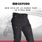 New from Oxford: SP-J4 Reinforced Cargo Trousers