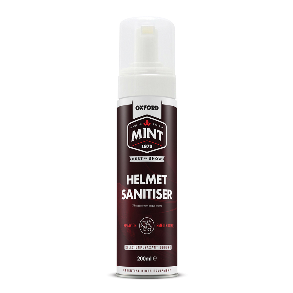 Oxford Mint Helmet Sanitiser Foam 200ml