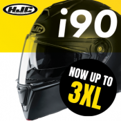 New from HJC: big helmets for big heads