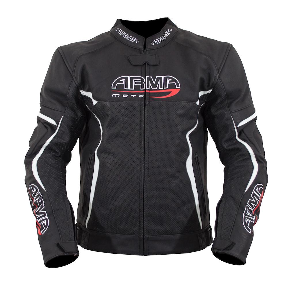 ARMR Raiden Jacket - Black & White