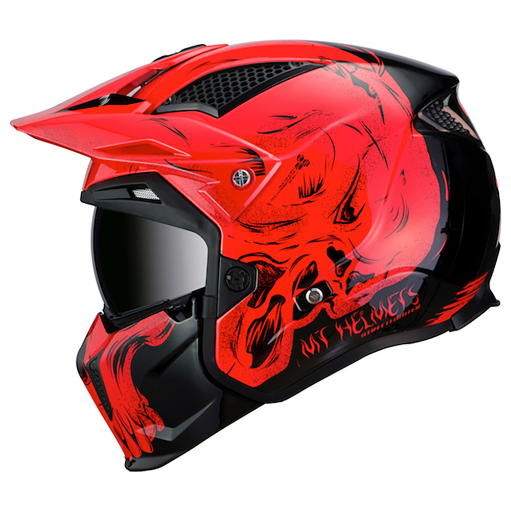 MT Streetfighter Darkness Black & Red