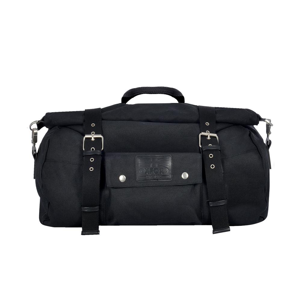 Oxford Heritage Roll Bag Black 20L