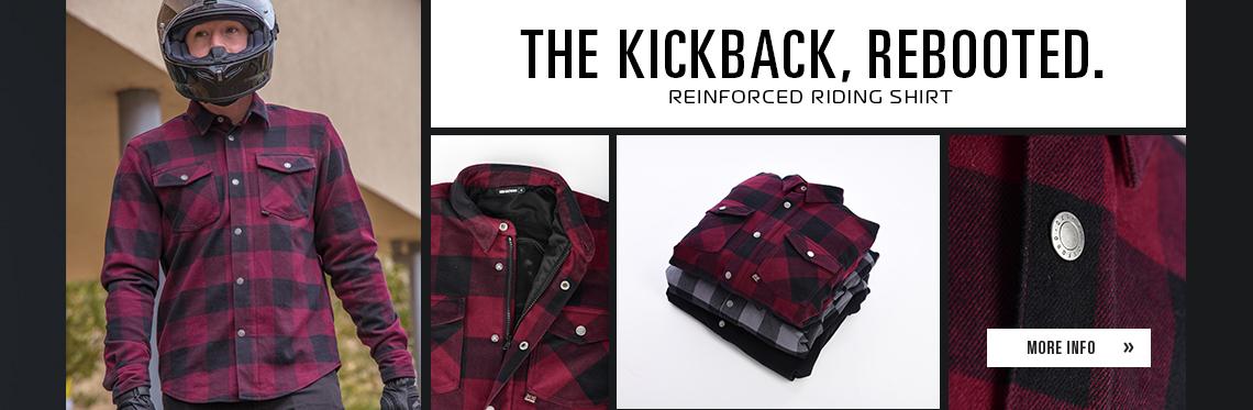 Kickback 2.0 Reinforced Riding Shirt