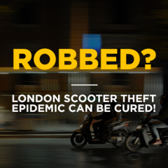 London scooter theft epidemic can be cured!