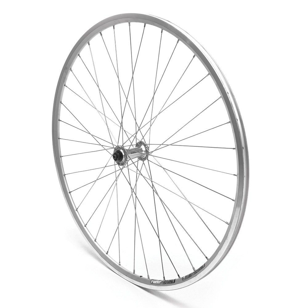Front Wheel 700c Road Claris Double Wall Silver QR